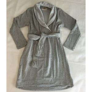 UGG Australia Robe Women's Heathered Gray Blanche